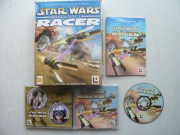 Star Wars Episode 1 Racer PC BIG BOX EDITION
